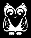 Glitter Tattoo owl cute uil lief