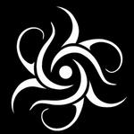 Glitter Tattoo swirls