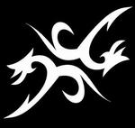 Glitter Tattoo tribal