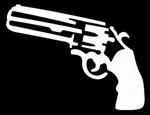 Glitter Tattoo pistol