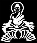 Glitter Tattoo buddha