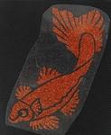 Strijkapplicatie KOI fish vis
