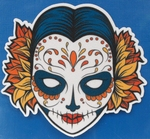 Strijkapplicatie woman nr5 sugar skull