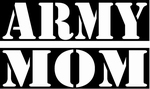 Glitter Tattoo army mom
