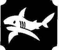 Glitter Tattoo SHARK haai