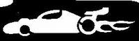 Glitter Tattoo CAR RACE racewagen