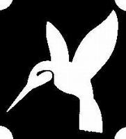Glitter Tattoo HUMMINGBIRD kolibri vogel