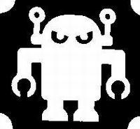 Glitter Tattoo ROBOT